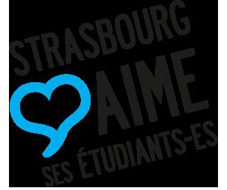 Logo Strasbourg aime ses étudiants
